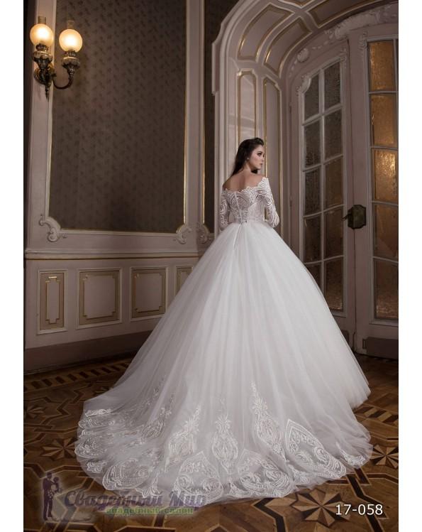 Свадебное платье 17-058