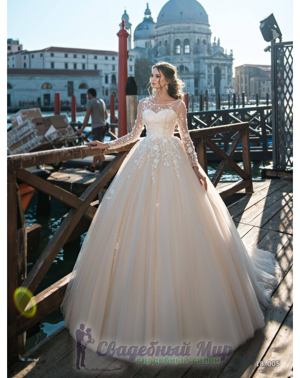 Свадебное платье 18-005