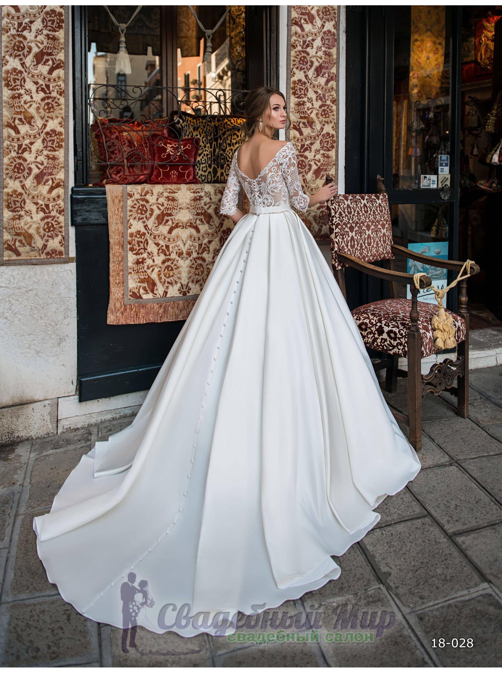 4184f00cf25 Свадебное платье 18-028