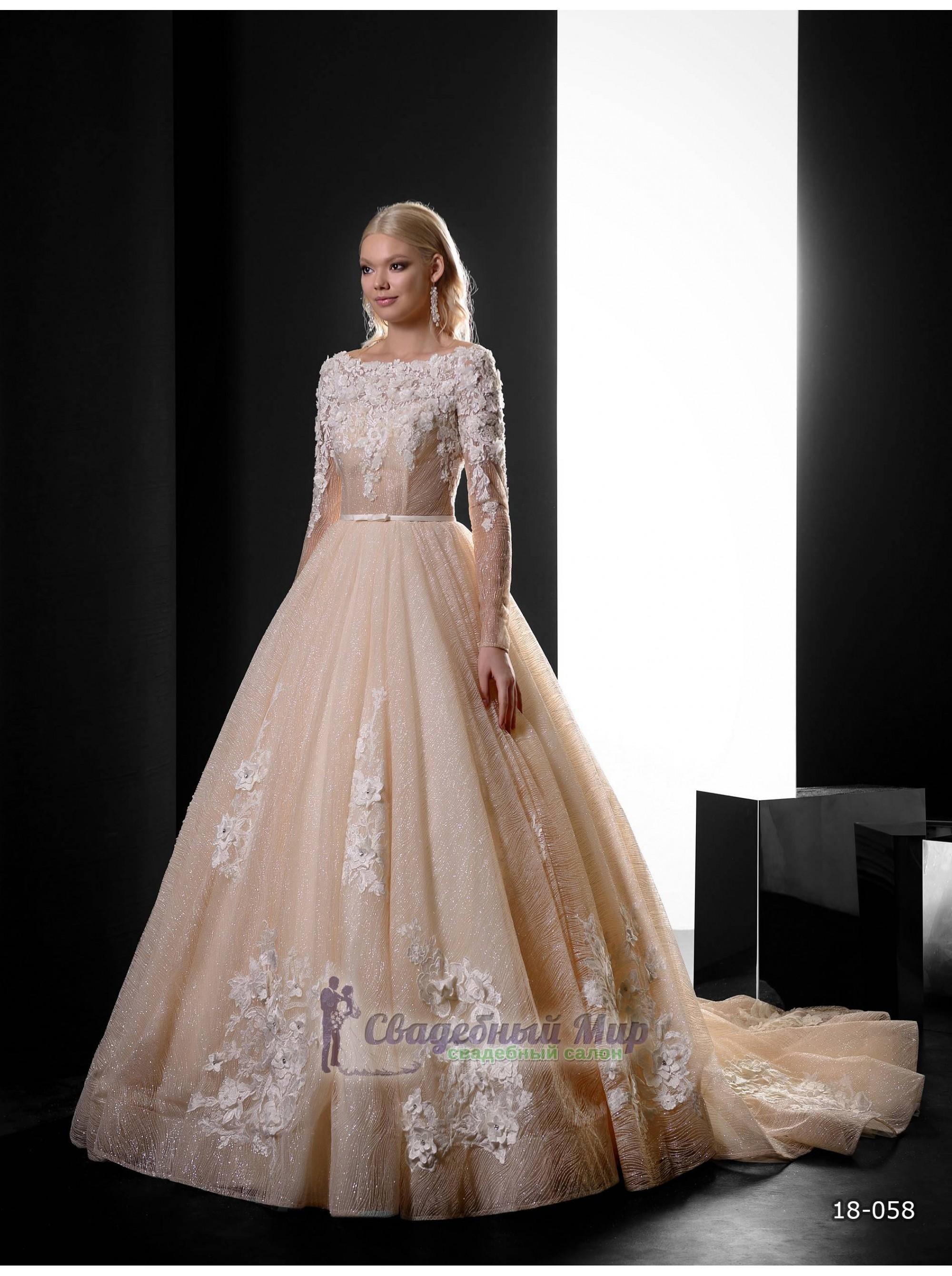 Свадебное платье 18-058