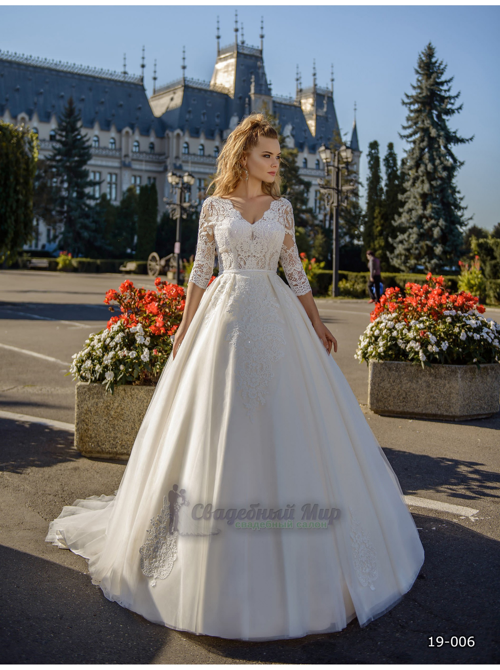 Свадебное платье 19-006