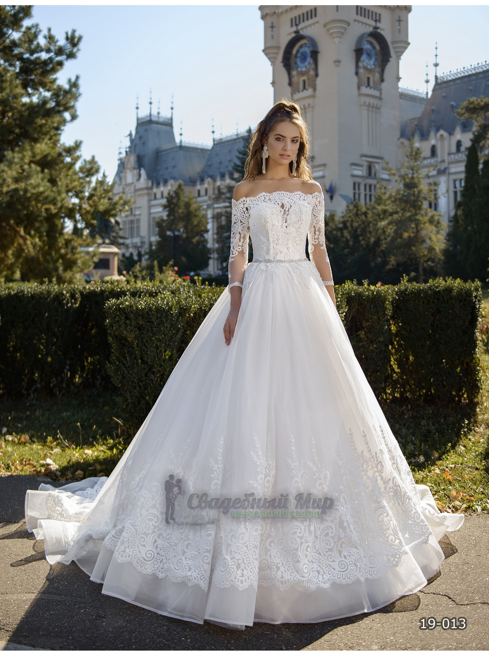 Свадебное платье 19-013