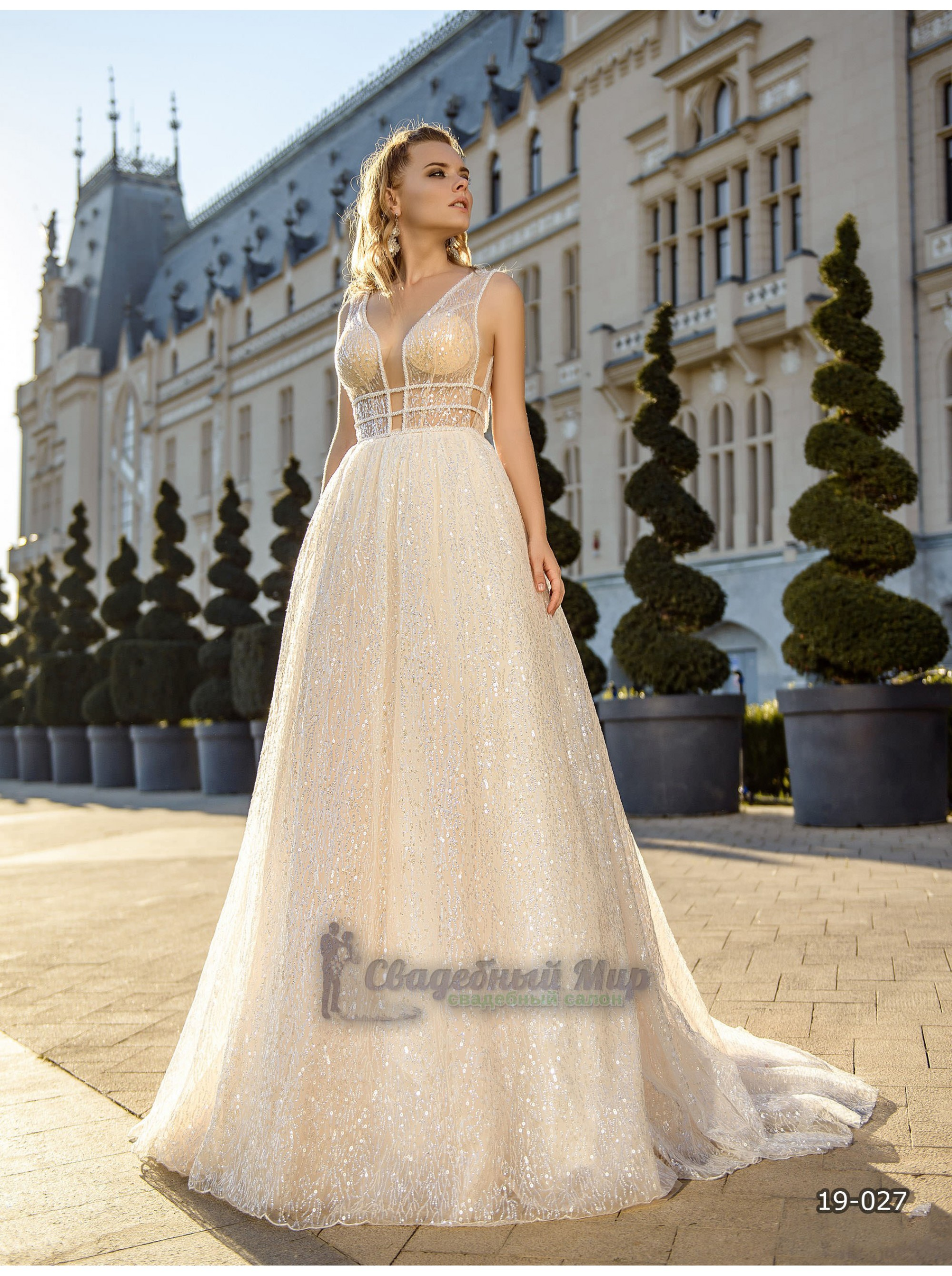 Свадебное платье 19-027