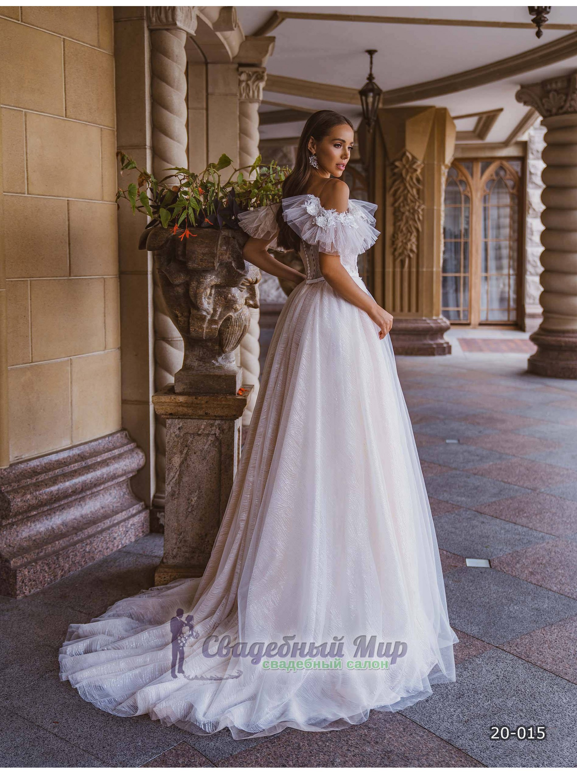 Свадебное платье 20-015