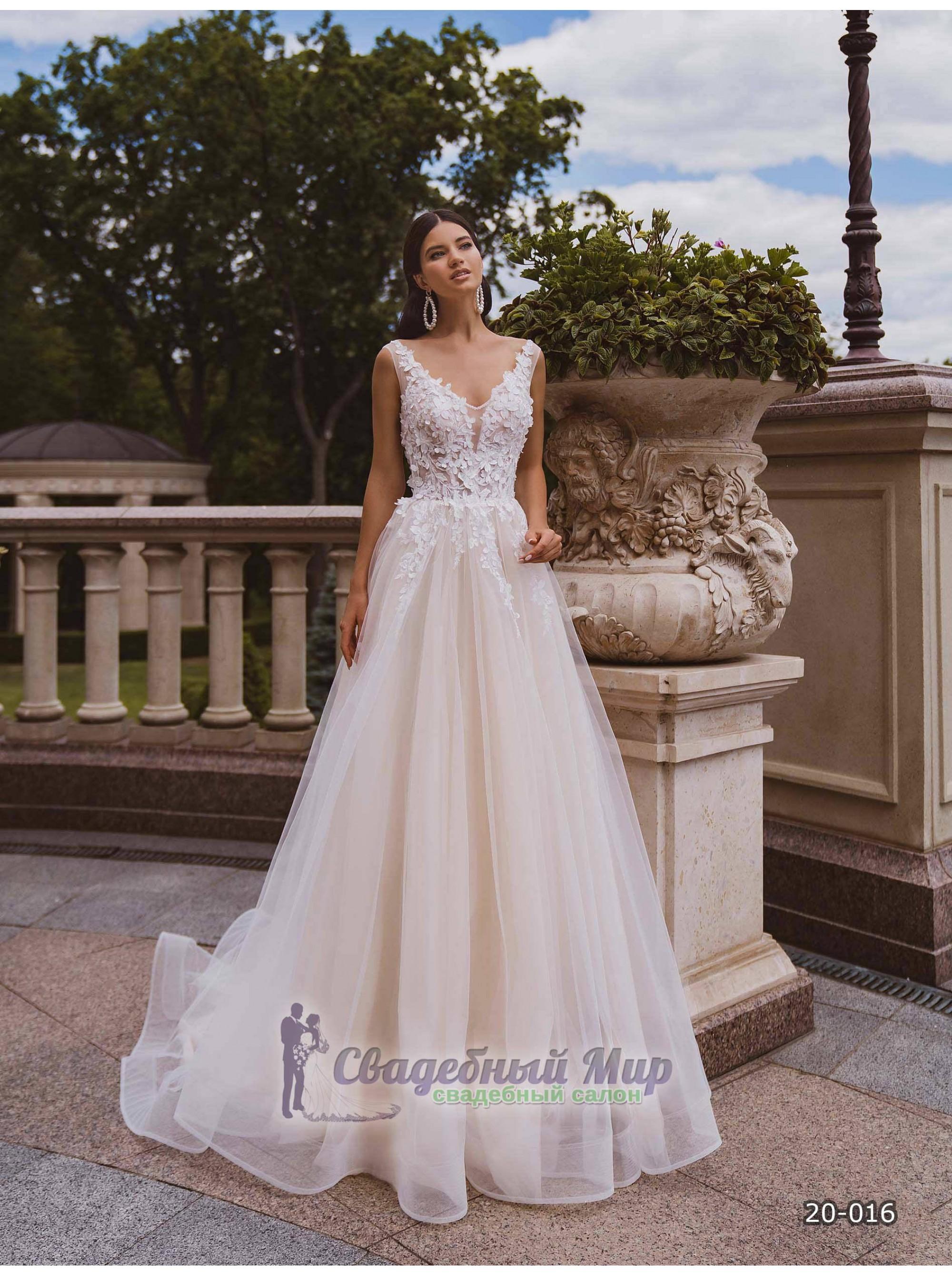 Свадебное платье 20-016