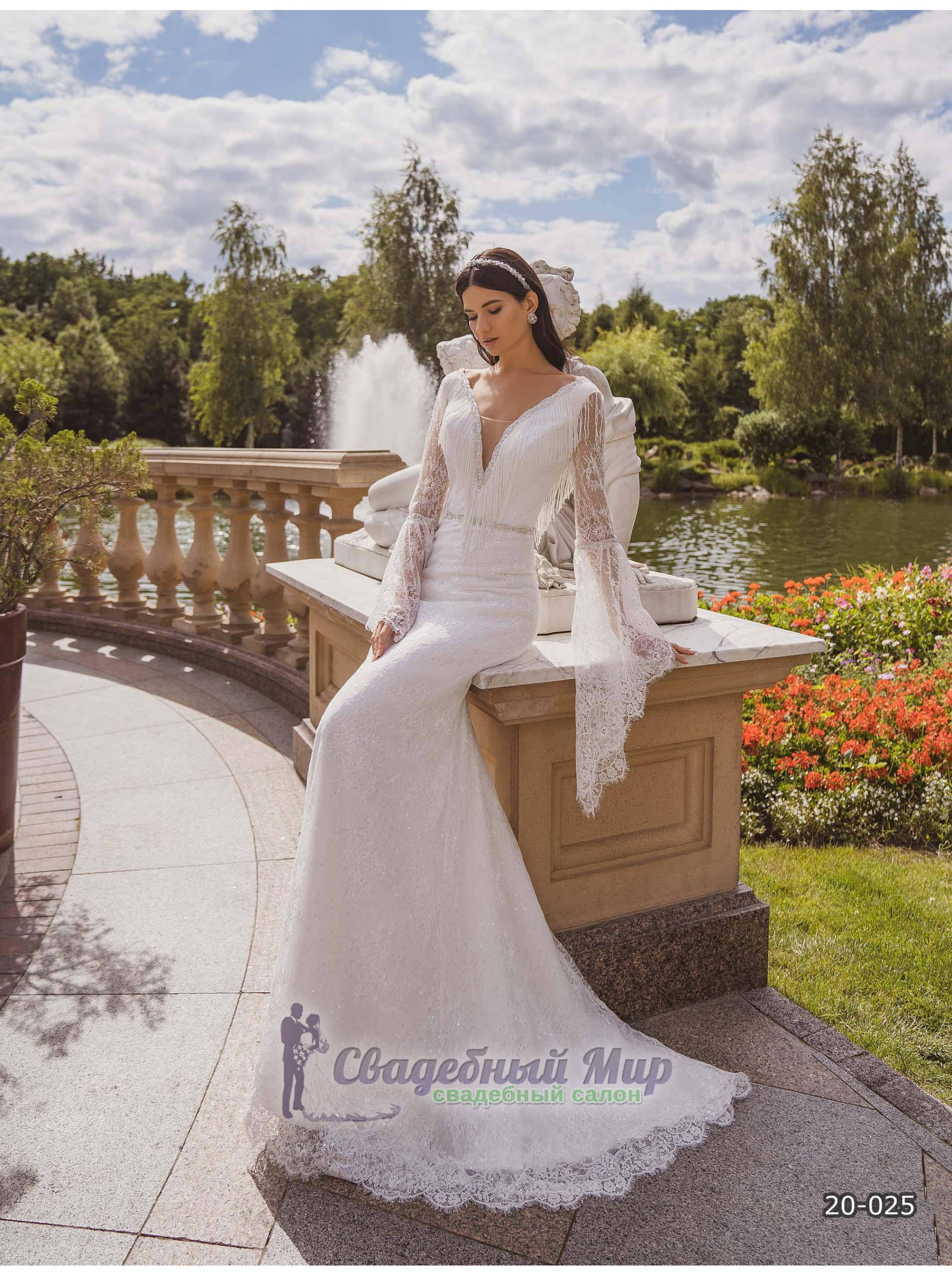 Свадебное платье 20-025