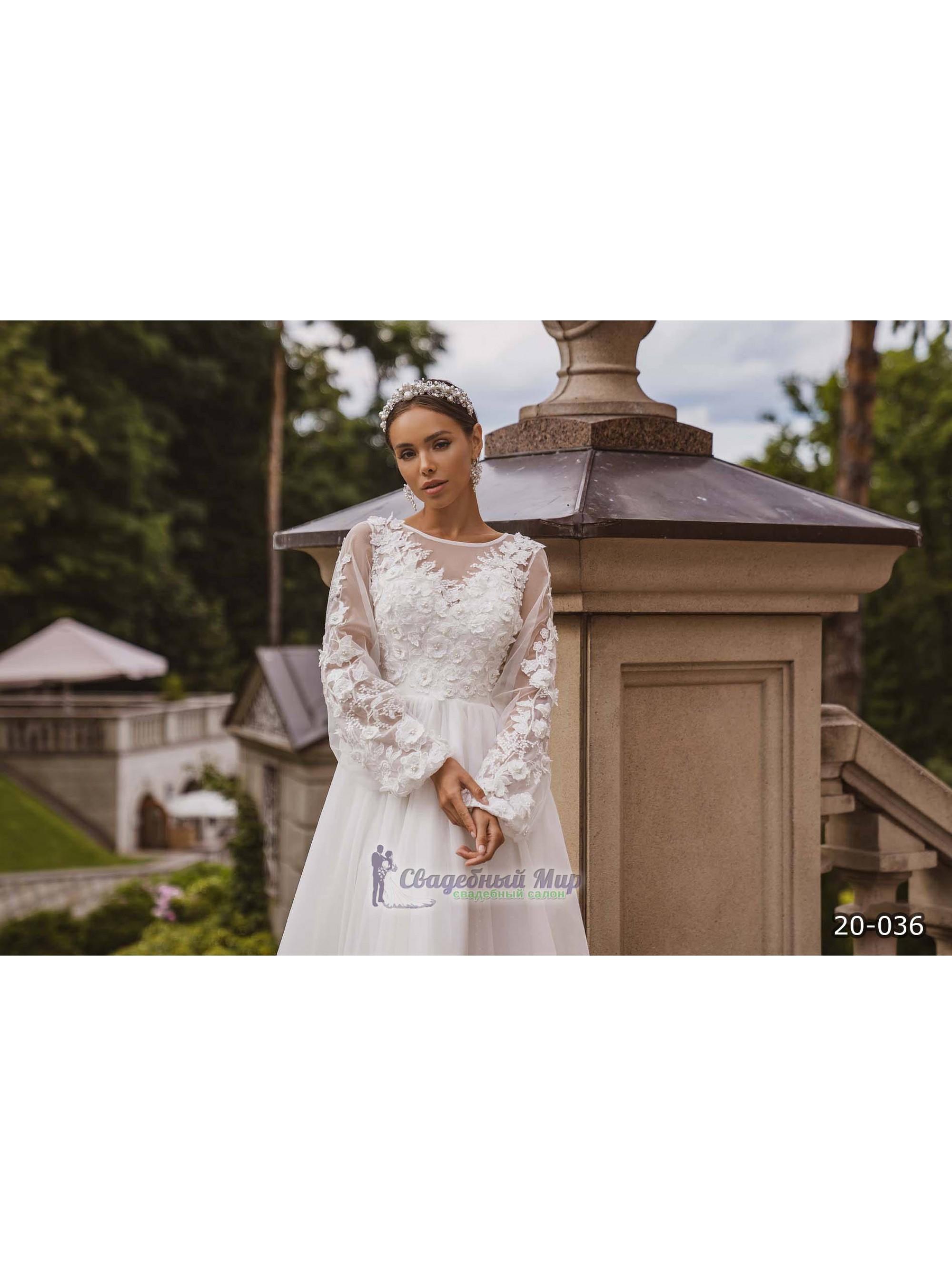 Свадебное платье 20-036