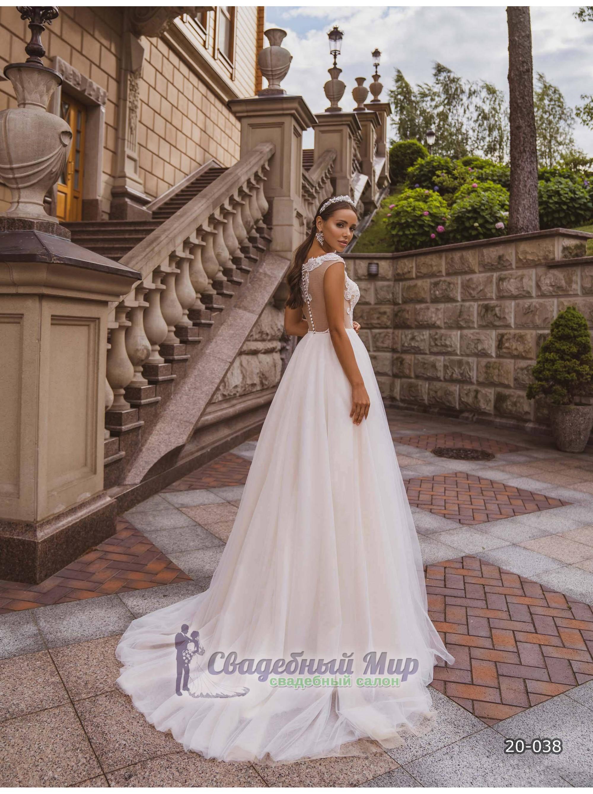 Свадебное платье 20-038