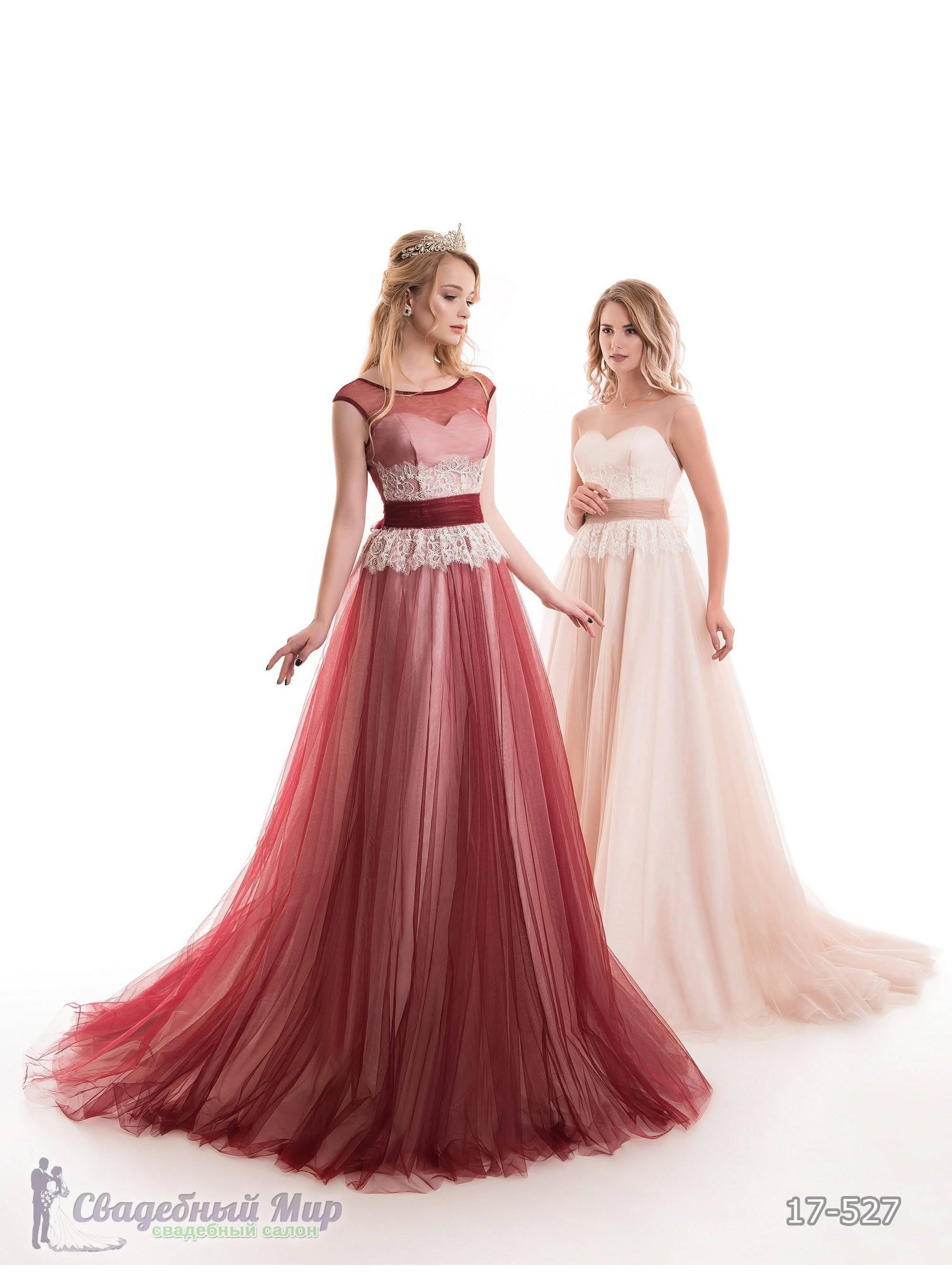Вечернее платье 17-527