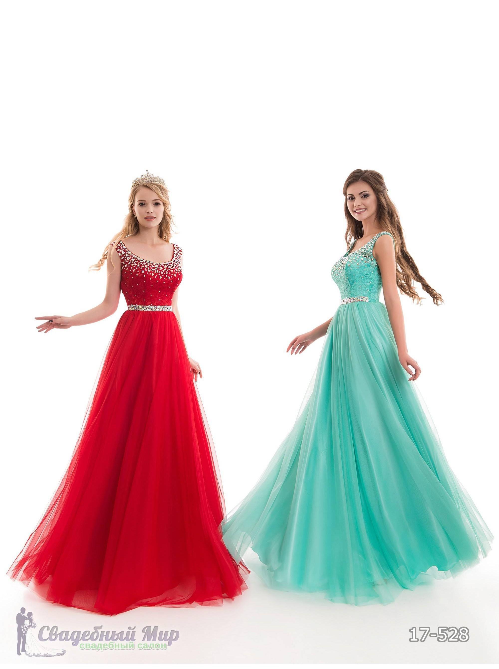 Вечернее платье 17-528