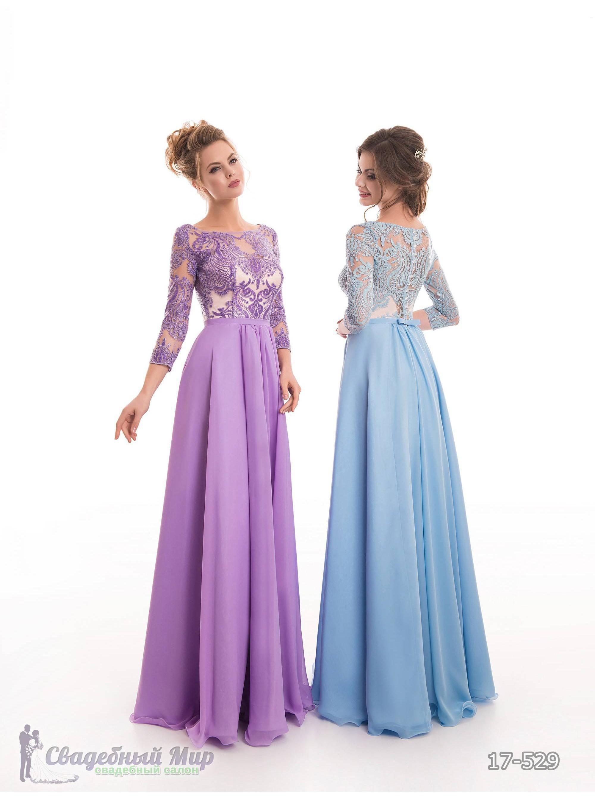 Вечернее платье 17-529