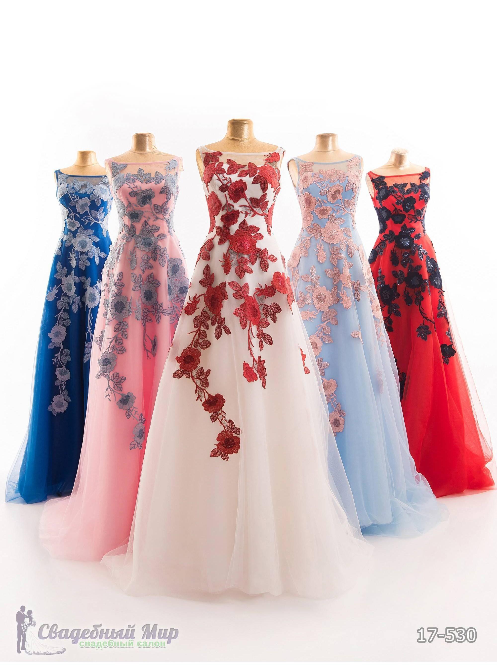 Вечернее платье 17-530