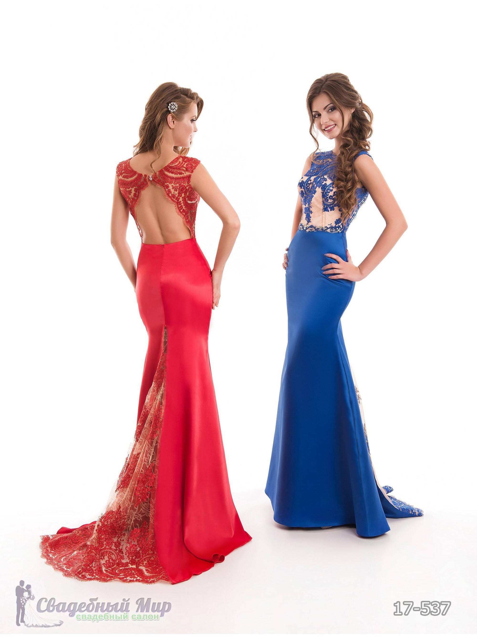 Вечернее платье 17-537