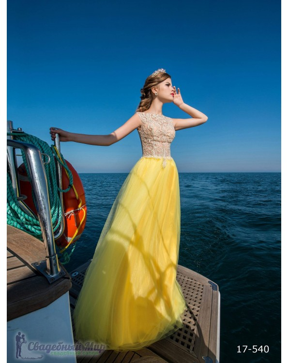Вечернее платье 17-540