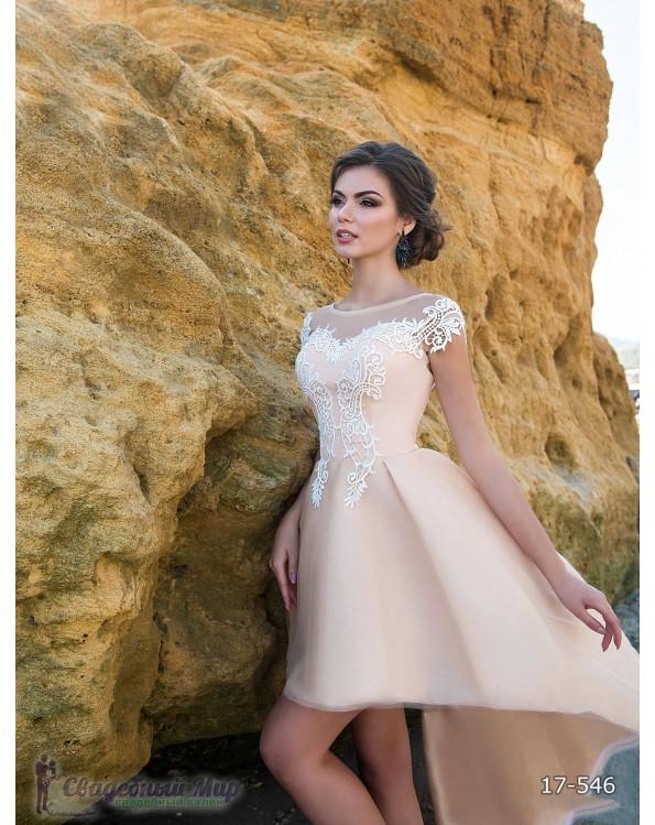 Вечернее платье 17-546