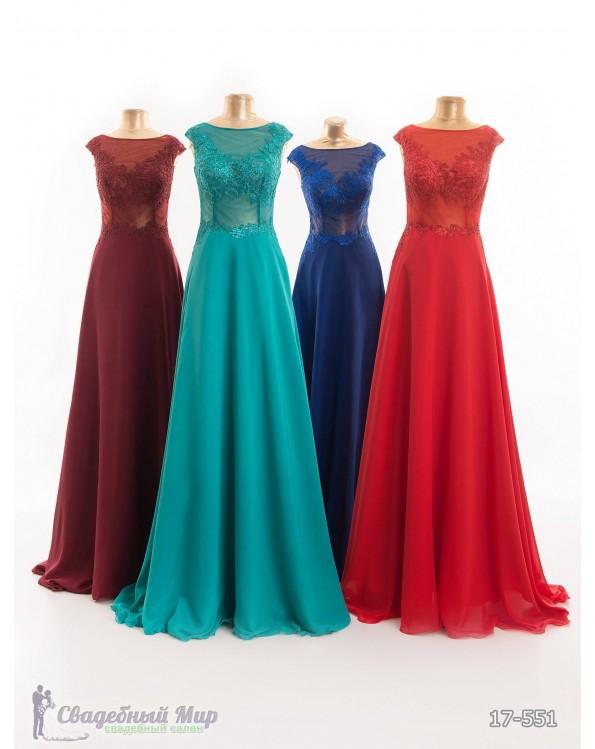Вечернее платье 17-551