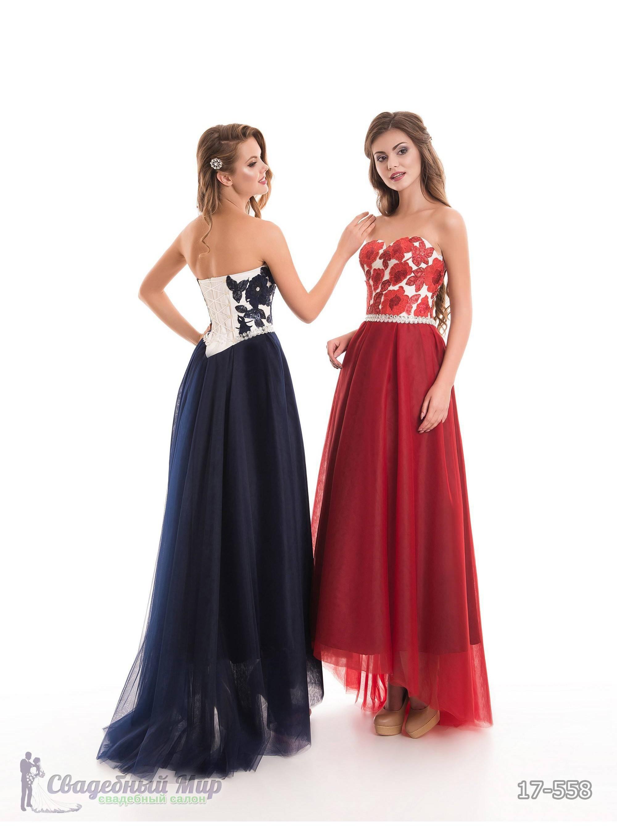 Вечернее платье 17-558