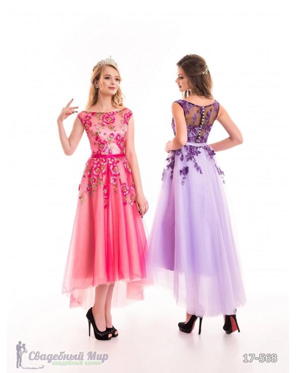 Вечернее платье 17-568