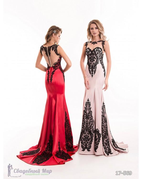 Вечернее платье 17-569