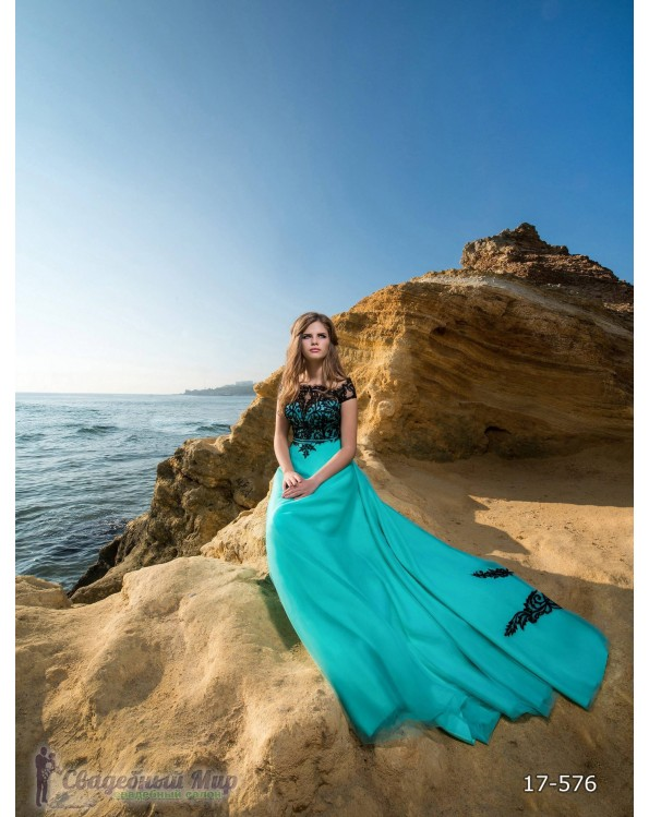 Вечернее платье 17-576