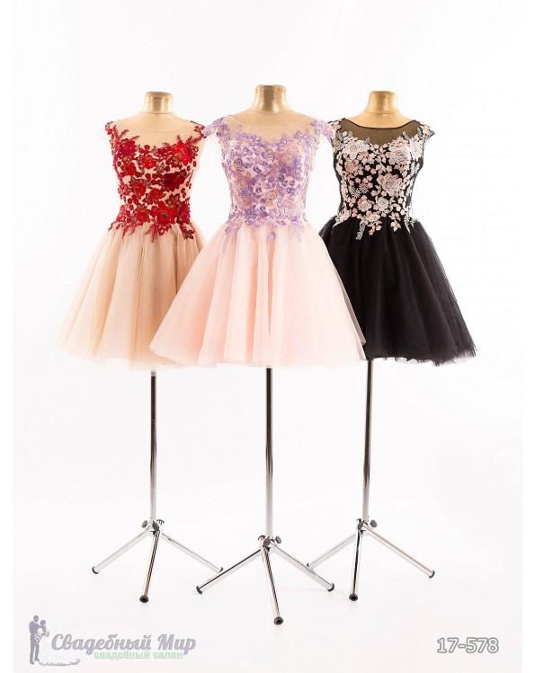 Вечернее платье 17-578