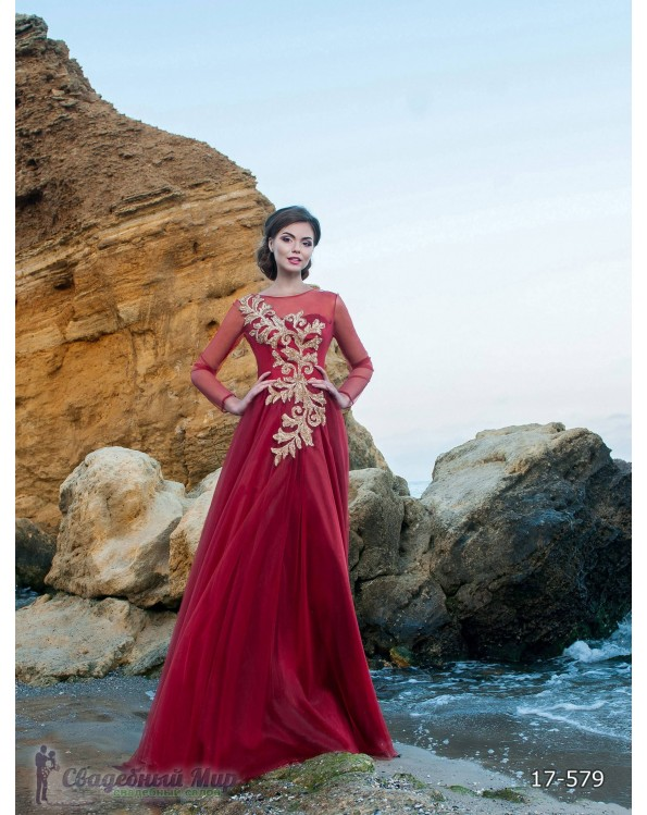 Вечернее платье 17-579