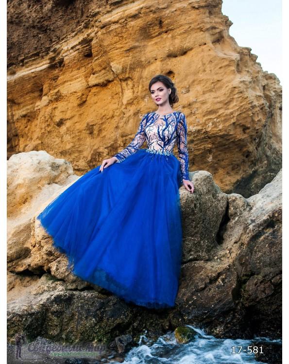 Вечернее платье 17-581