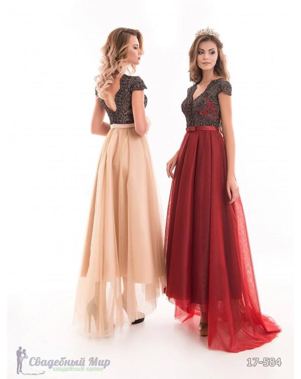 Вечернее платье 17-584