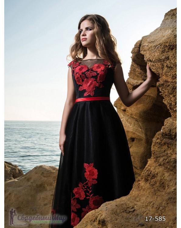 Вечернее платье 17-585