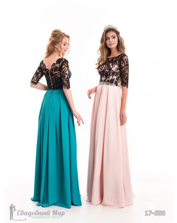 Вечернее платье 17-586