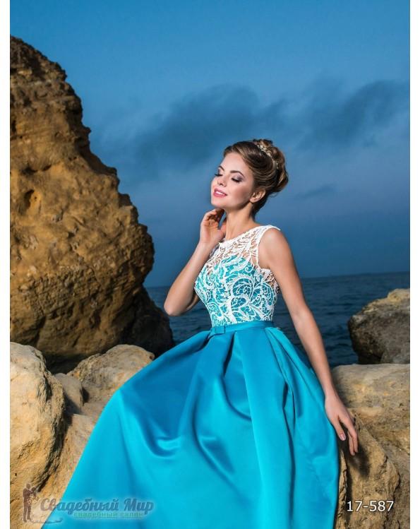 Вечернее платье 17-587