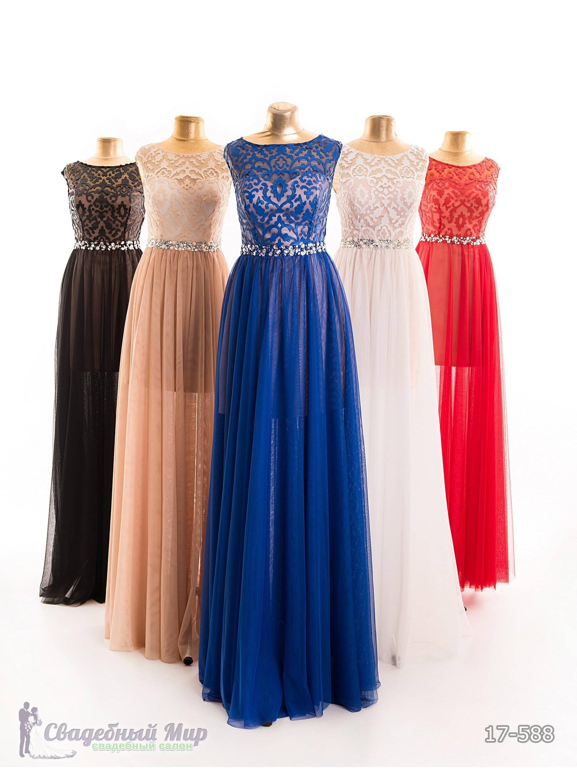 Вечернее платье 17-588