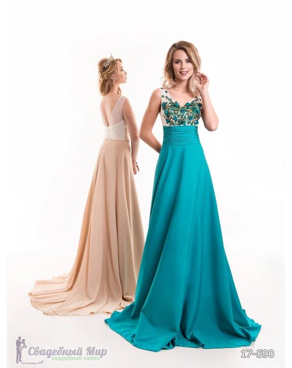 Вечернее платье 17-590