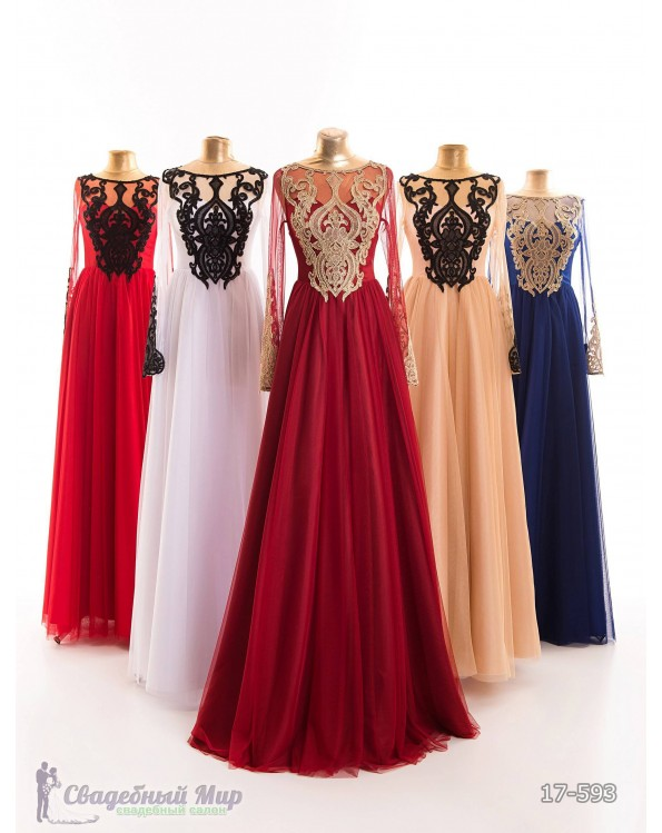 Вечернее платье 17-593