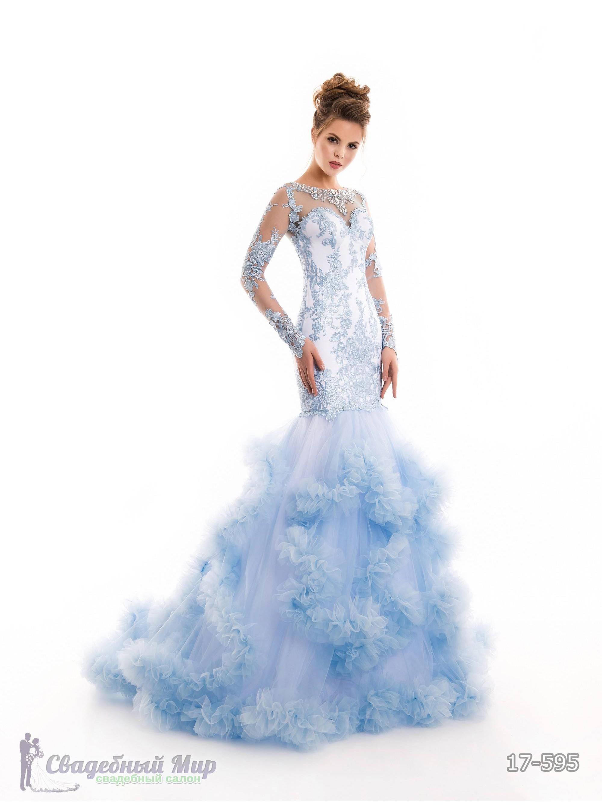 Вечернее платье 17-595