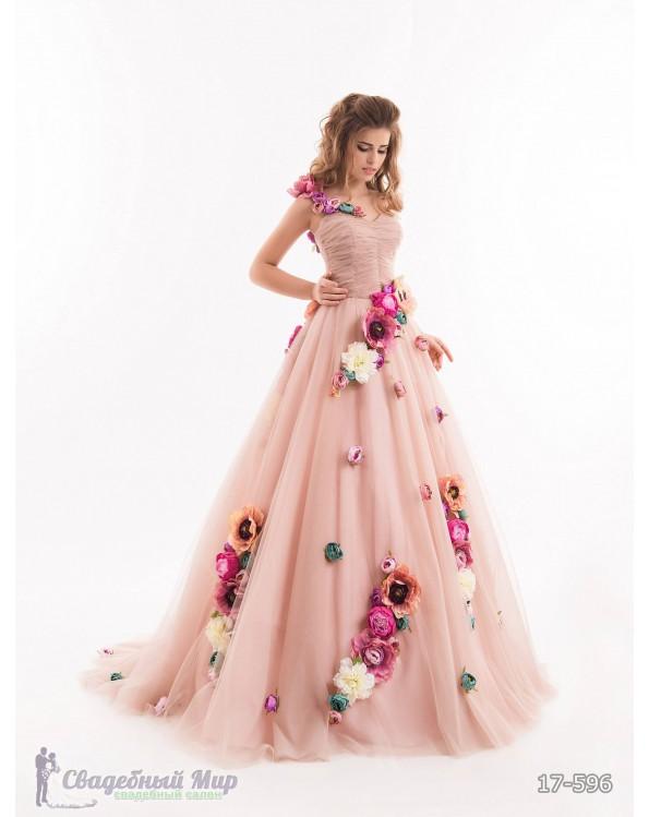 Вечернее платье 17-596