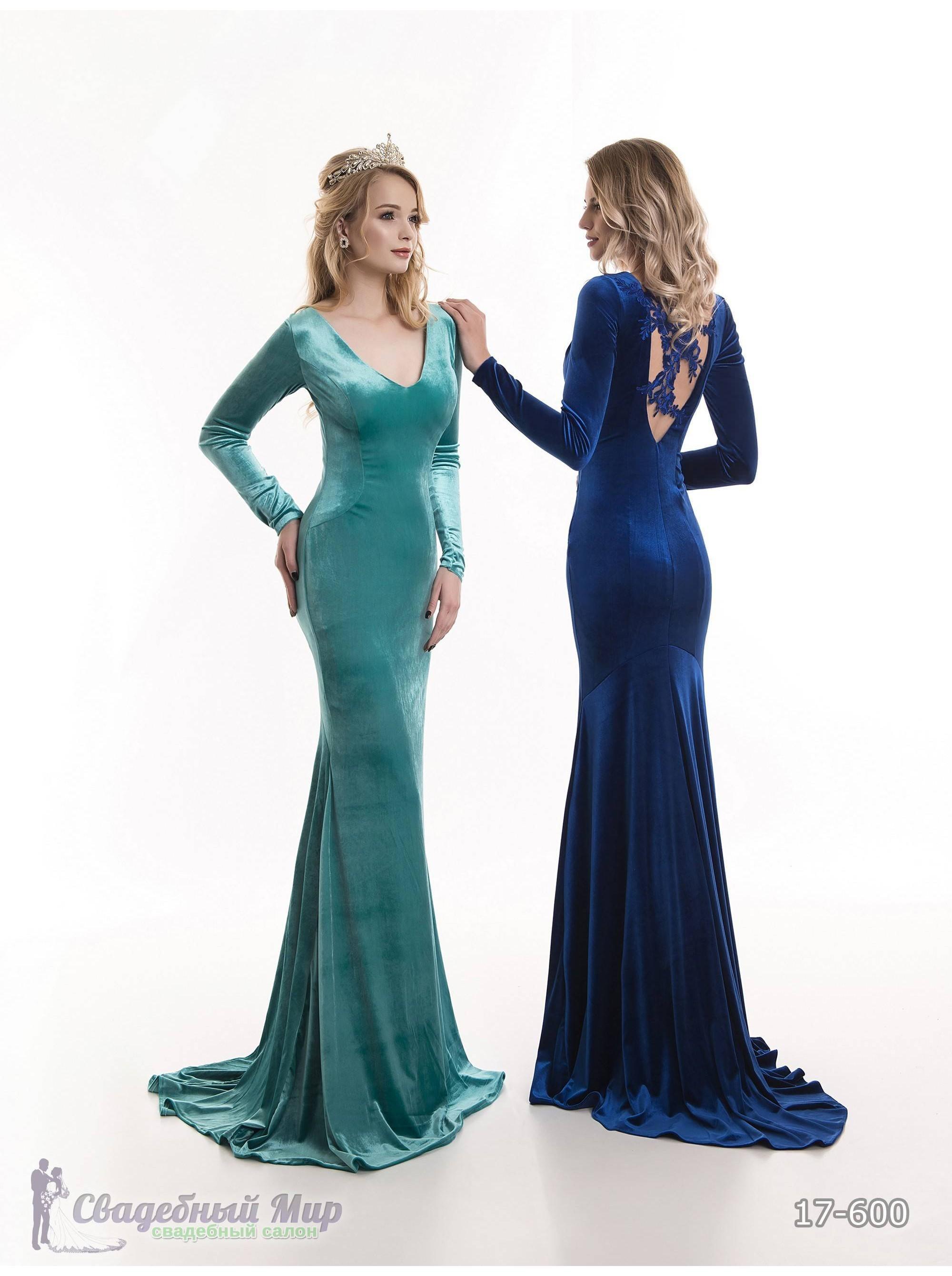 Вечернее платье 17-600