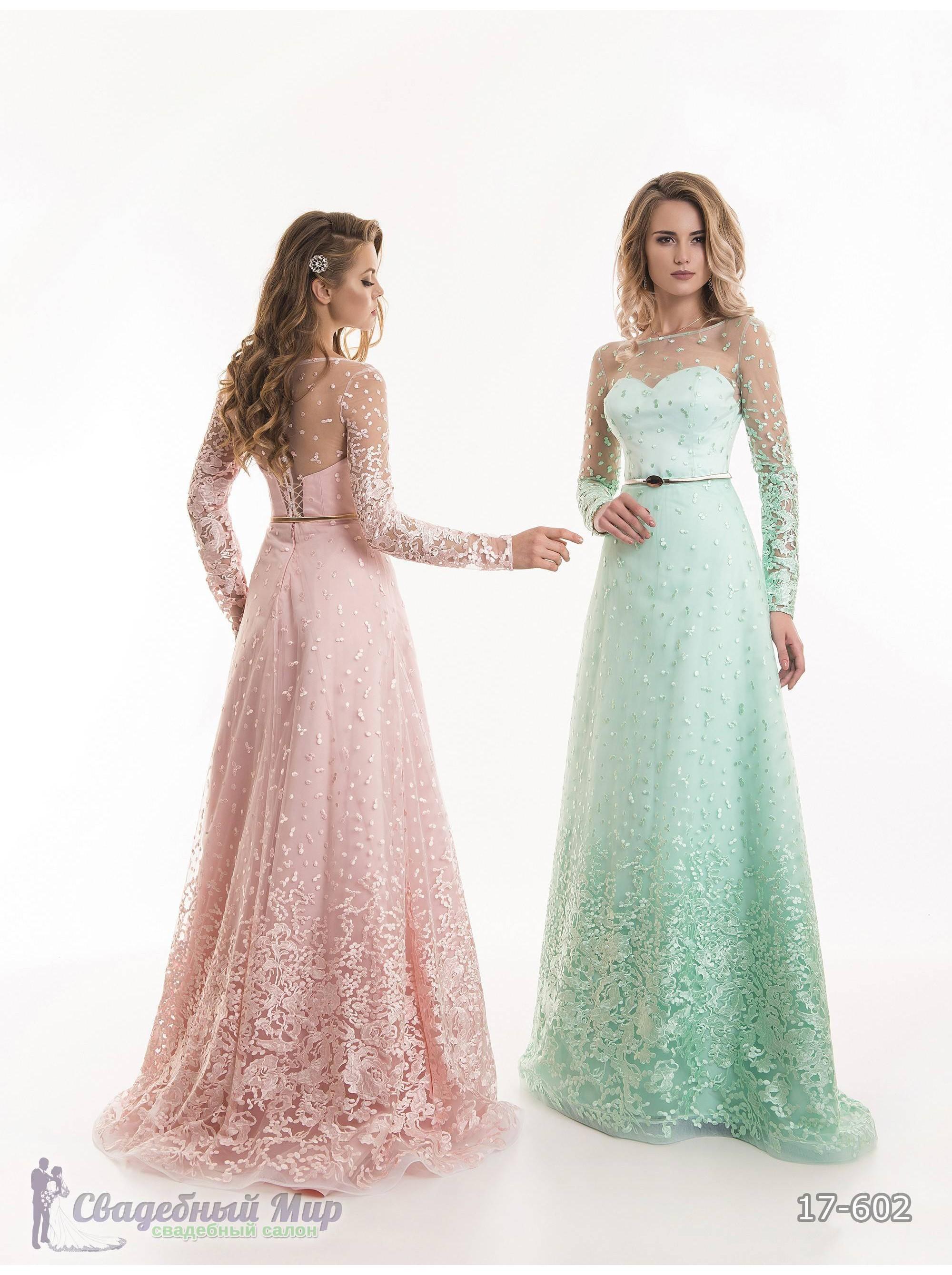Вечернее платье 17-602