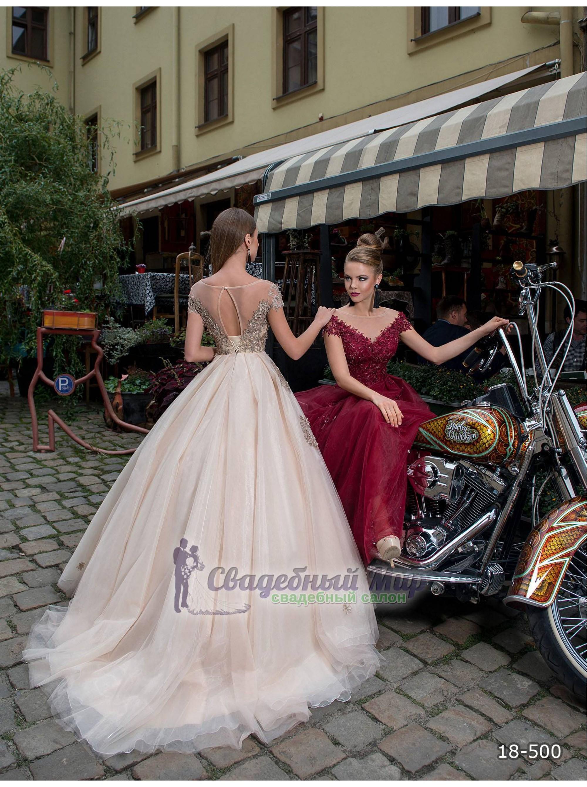 Вечернее платье 18-500