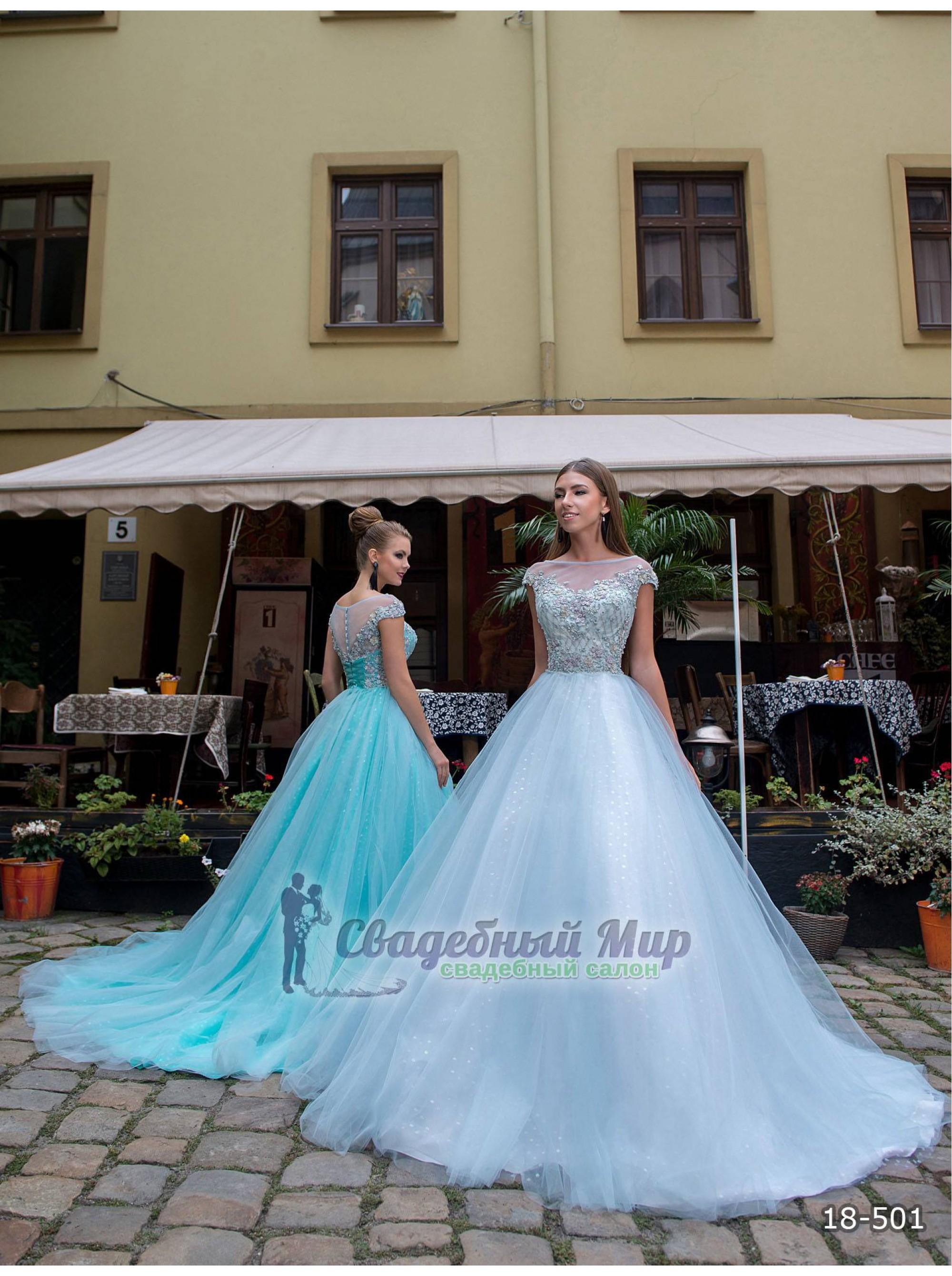 Вечернее платье 18-501