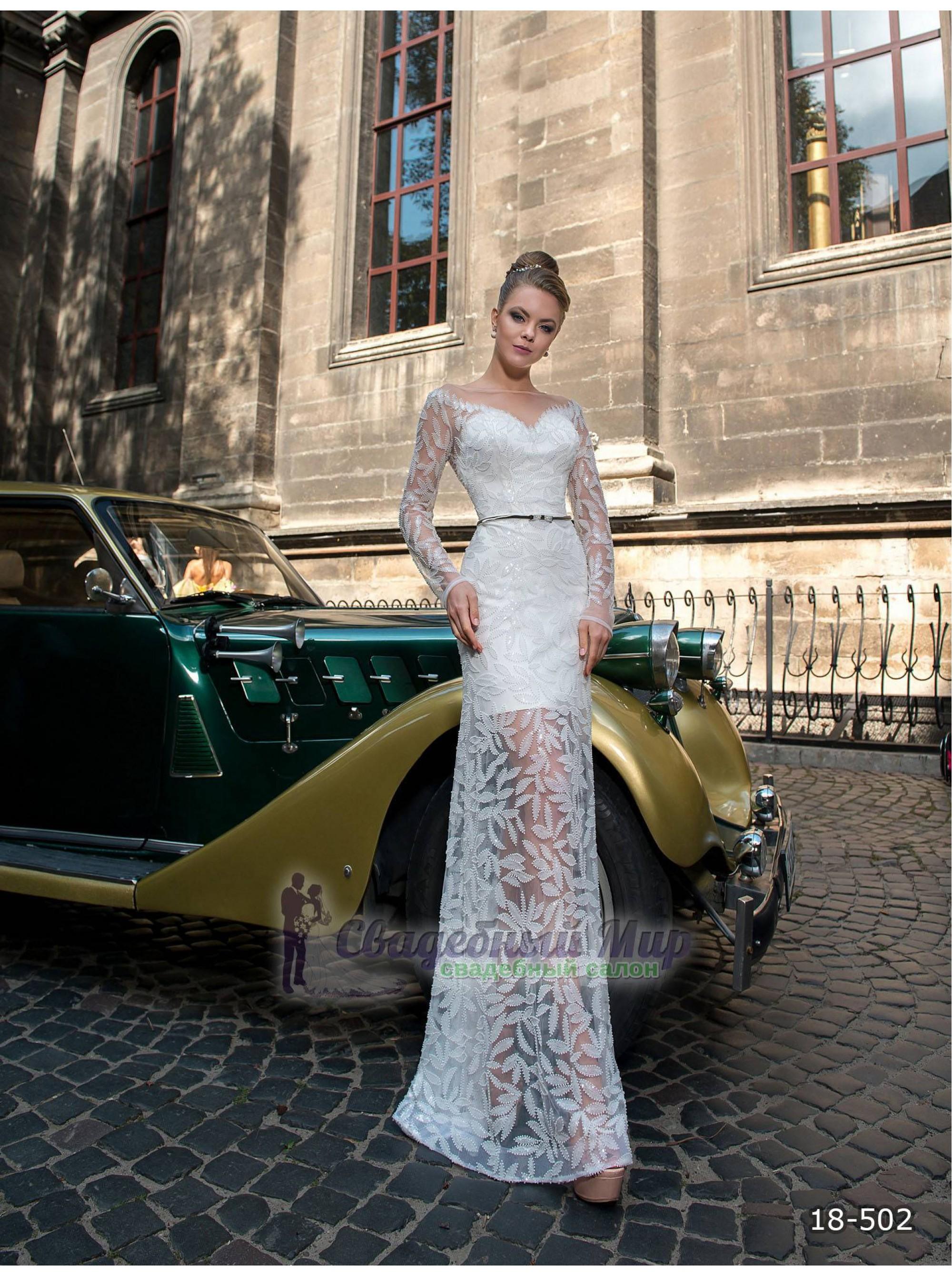Вечернее платье 18-502