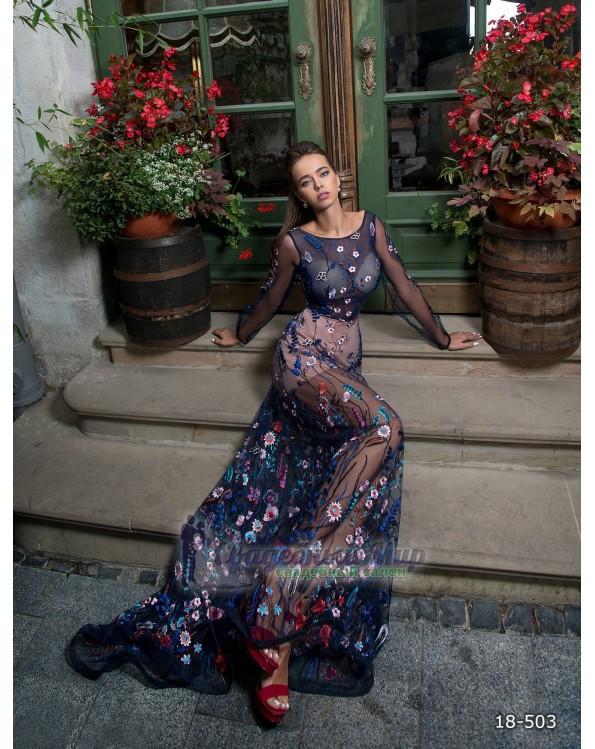 Вечернее платье 18-503