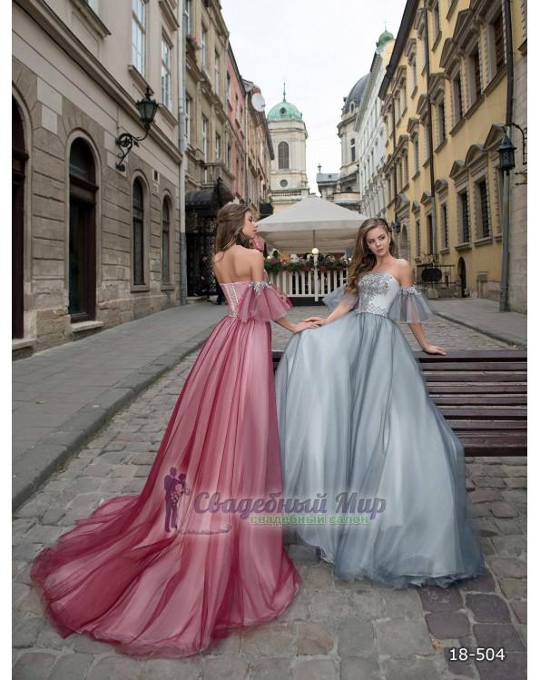 Вечернее платье 18-504