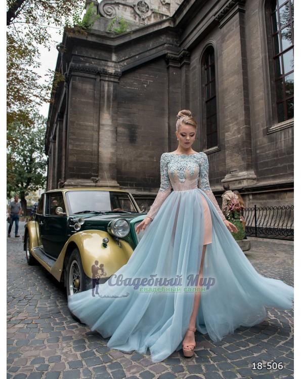 Вечернее платье 18-506