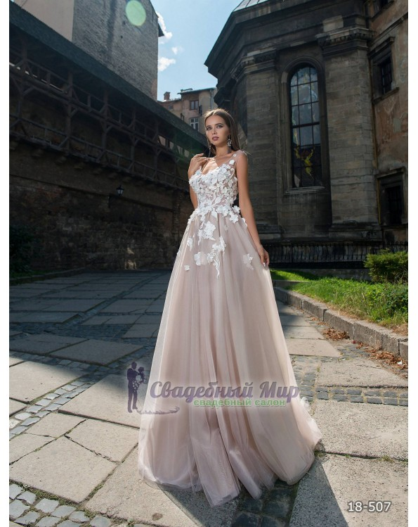 Вечернее платье 18-507