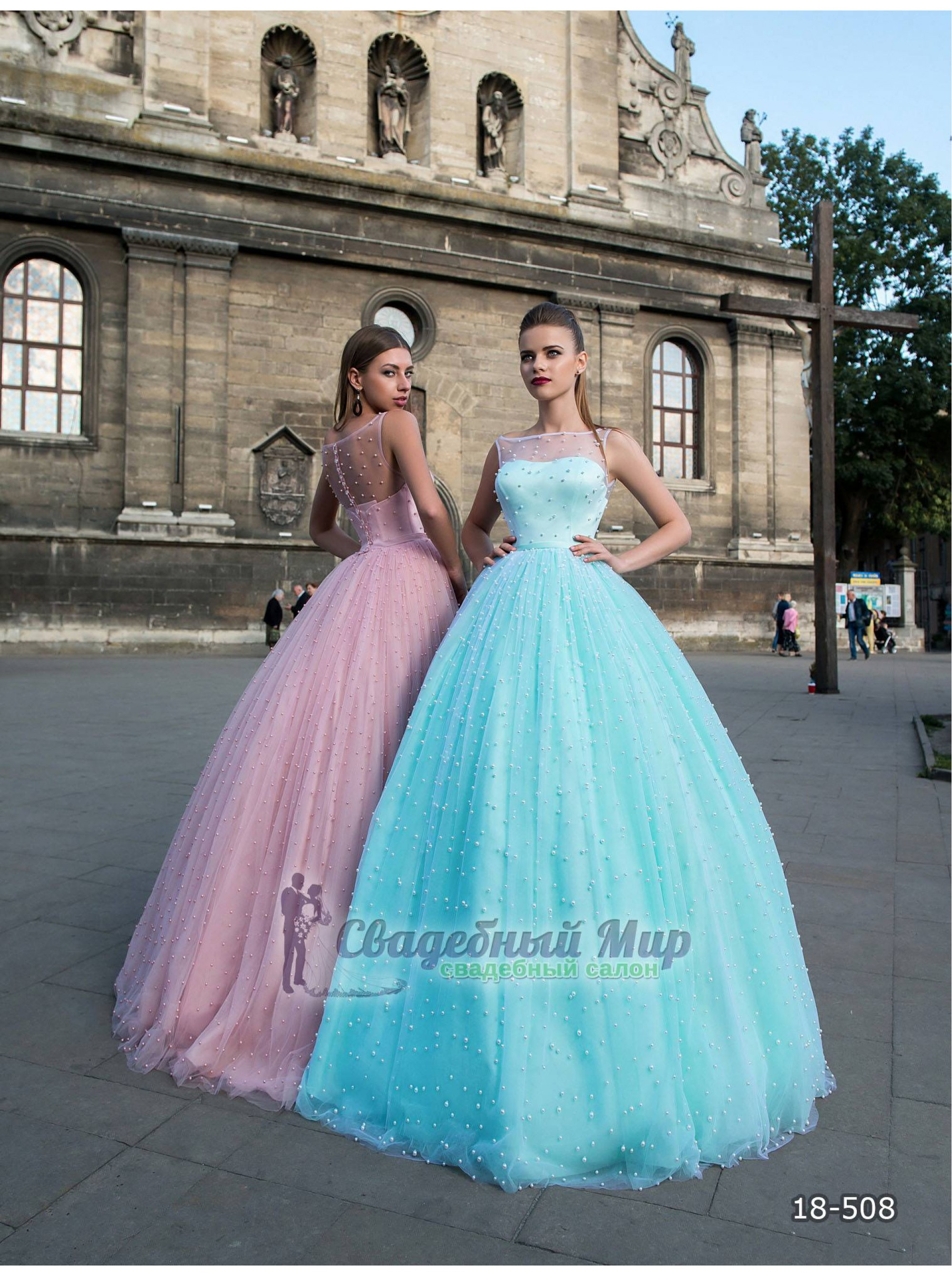 Вечернее платье 18-508