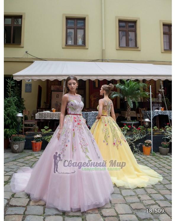 Вечернее платье 18-509