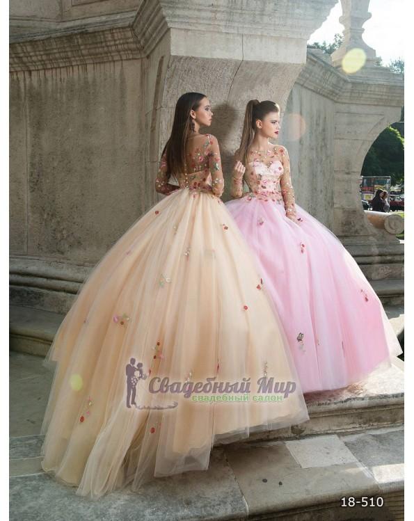 Вечернее платье 18-510