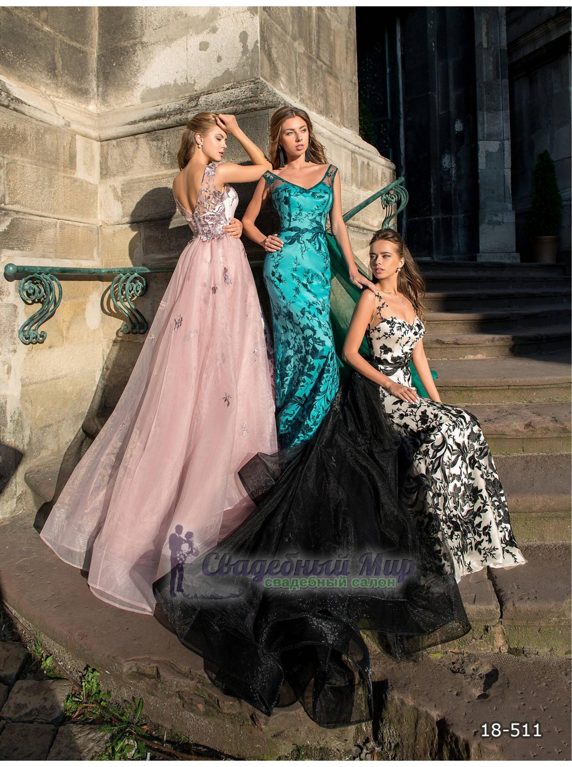 Вечернее платье 18-511