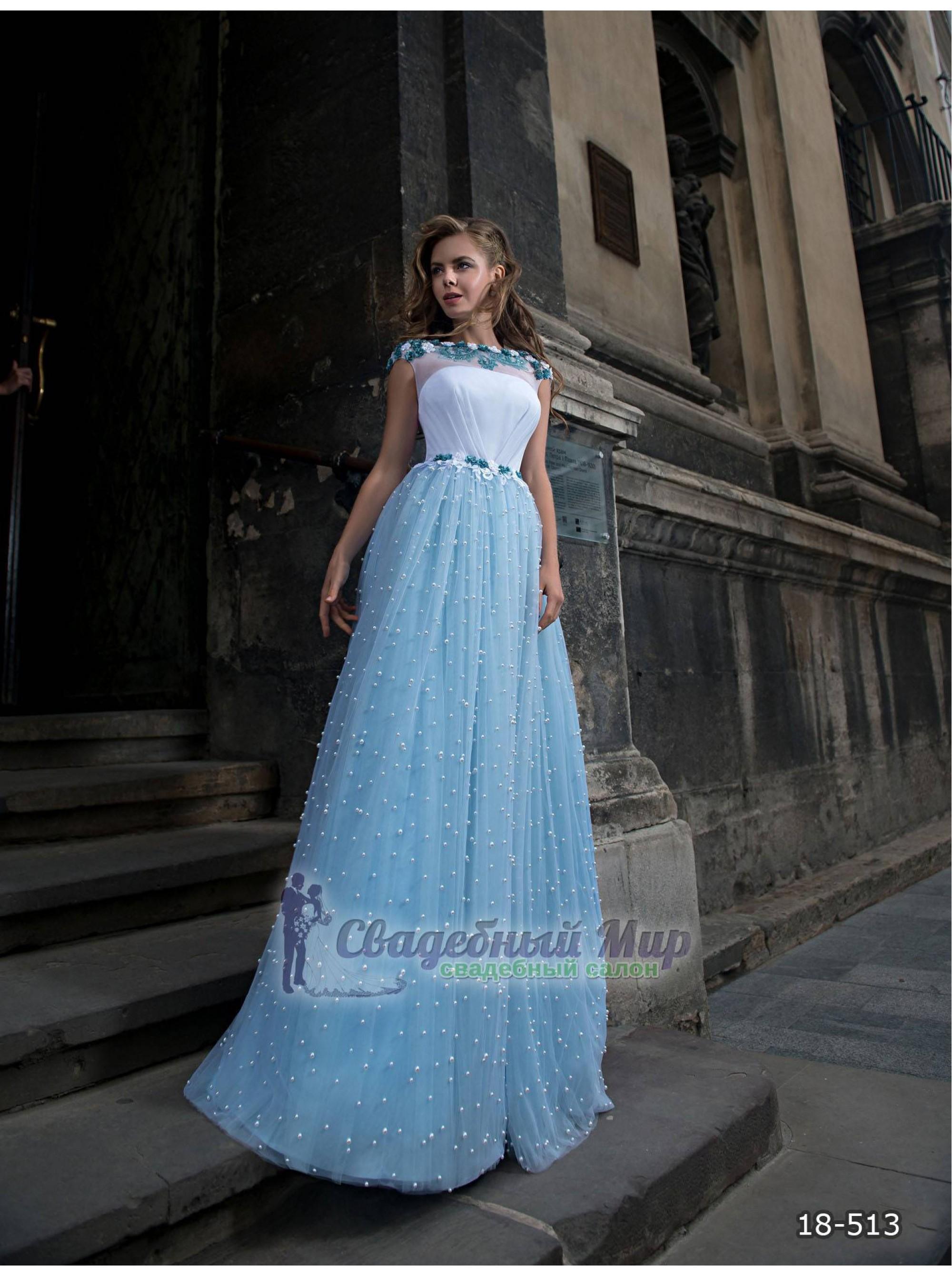 Вечернее платье 18-513
